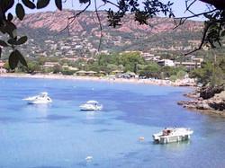 Cap Esterel plage