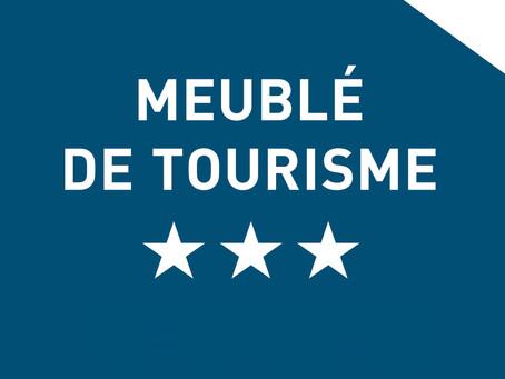 Cap Esterel location de Vacances est un Meublé de Tourisme 3***