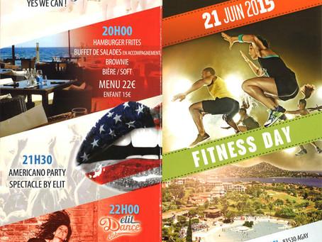 Cap Esterel - Fête de la musique 21 juin 2015 - Fitness et Musique !