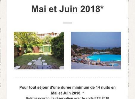 Promotions Cap Esterel 2018