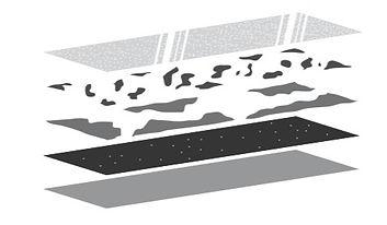 Sand Texture Metalium PVDF Coating