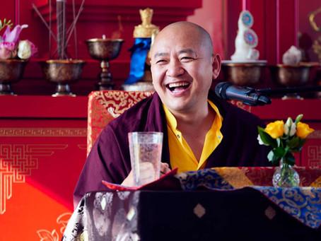 Návštěva Dupsenga Rinpočheho
