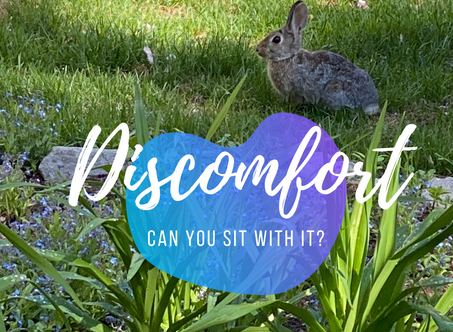 Can You Sit with Discomfort?