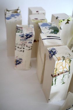 Decal detail ceramics