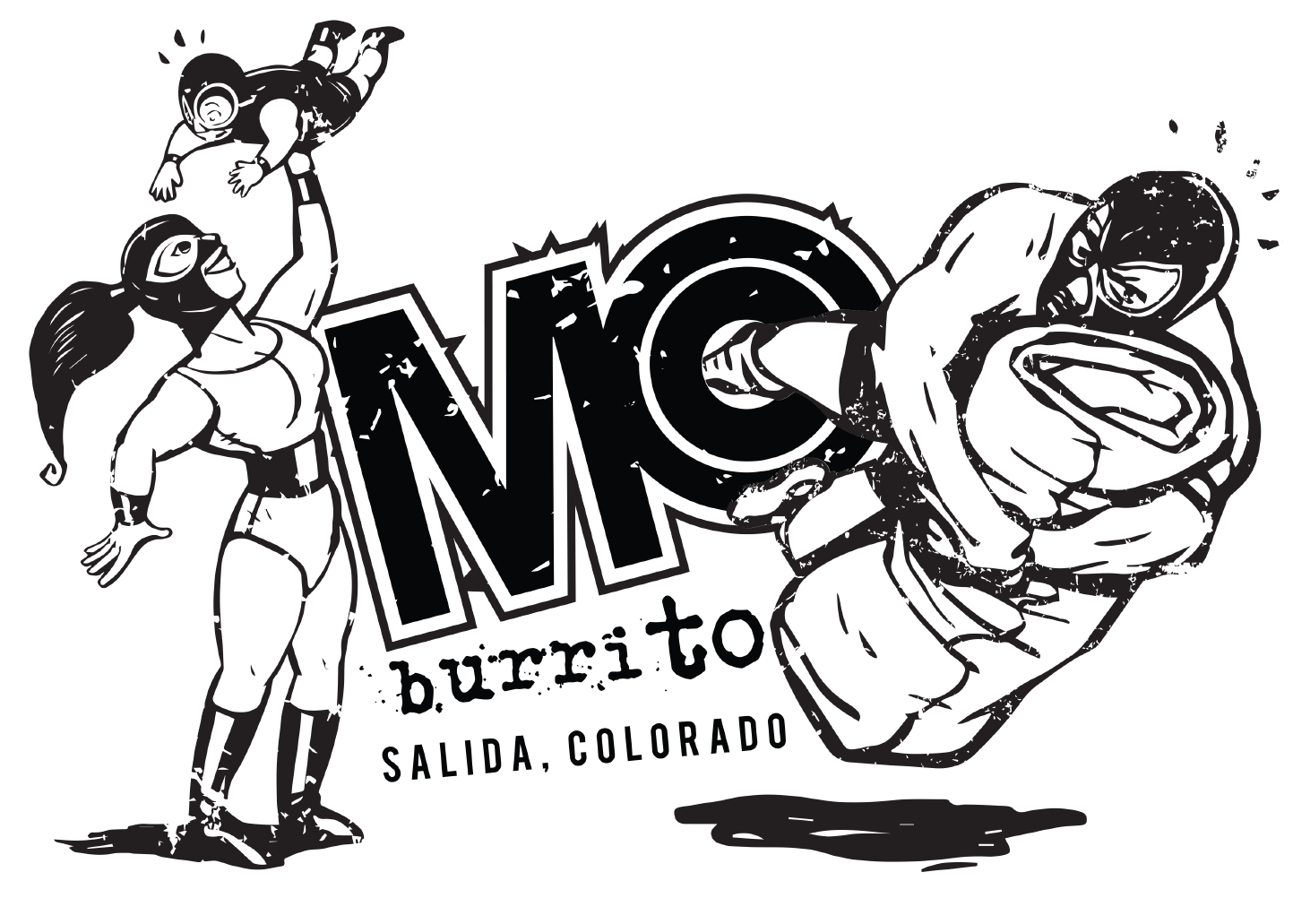 MoBurrito Coloring Page