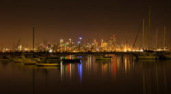 Williamstown by night