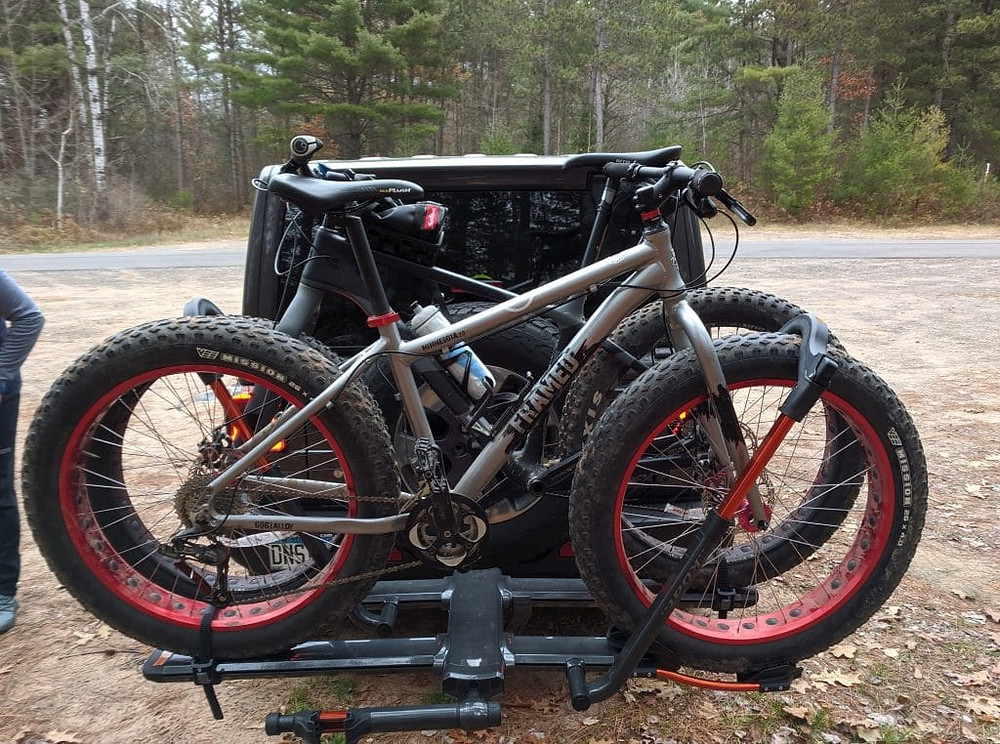 Fat bikes for winter fitness