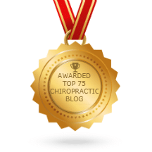 Top 75 Chiropractic Blog Award