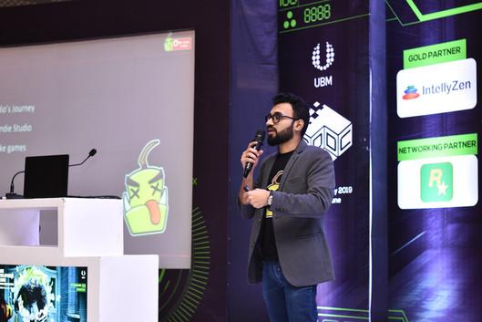 Zain Fahadh talk at GDDC