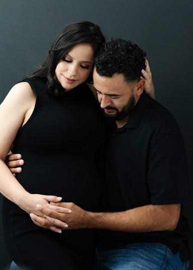 Maternity studio photographer