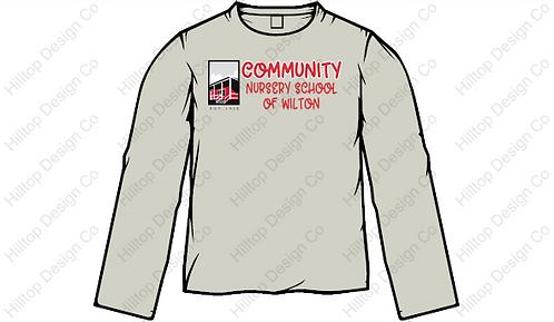 Community Long Sleeve Shirt #1 - Gray