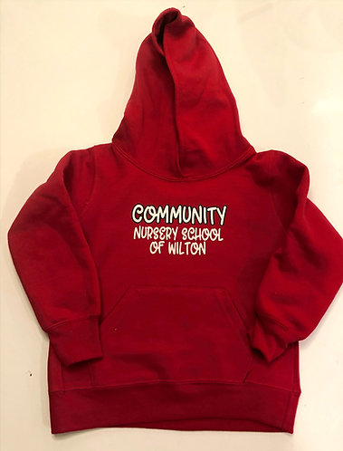 Community Sweatshirt - Red