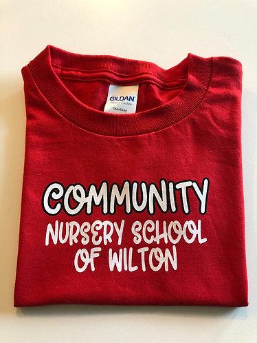 Community Short Sleeve T-shirt #2 - Red