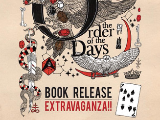 The Order of the Days: Book Release Extravagana!