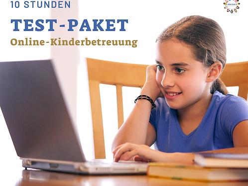 Test-Paket 10 Std. Online-Kinderbetreuung
