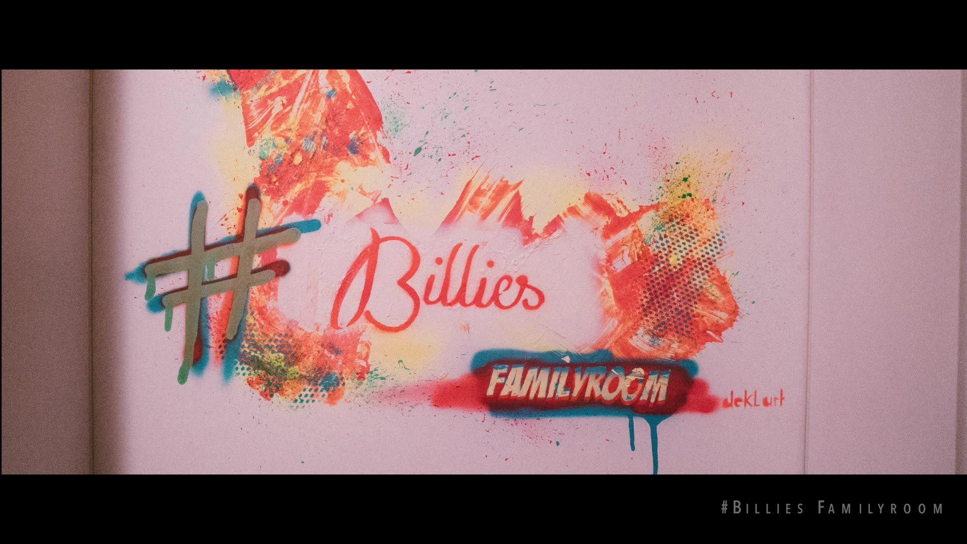 #BilliesFamilyRoom