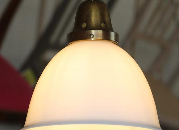 Opal-Glas Lampe