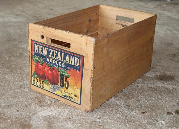 Antike Apfelkiste