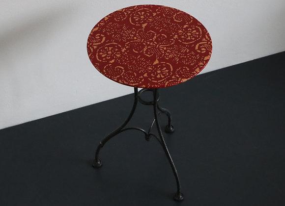 Bistrotisch Volterra rot/corall
