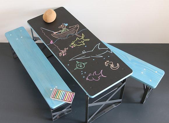 Kinderfestbank Garnitur Tafeltisch