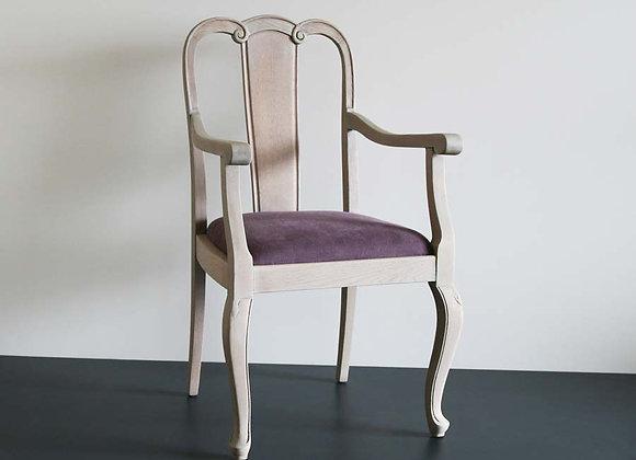 Sessel lasiert und gepolster