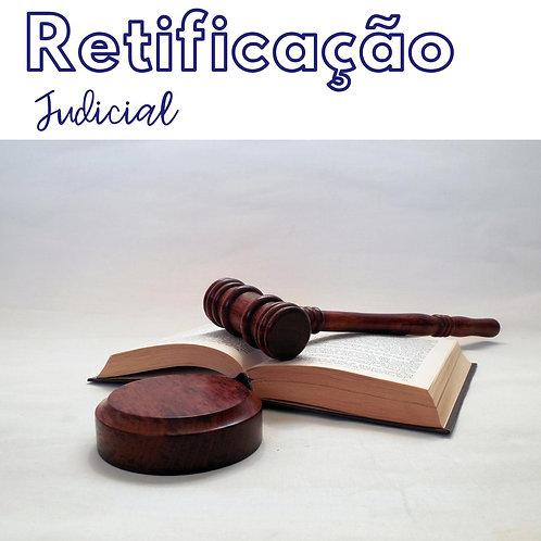 Retificação Judicial