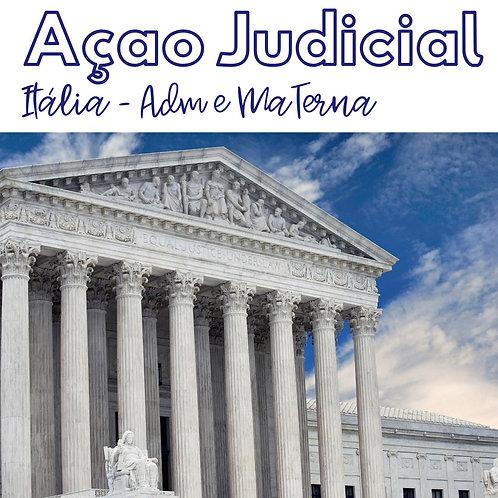 Ação Judicial via Itália