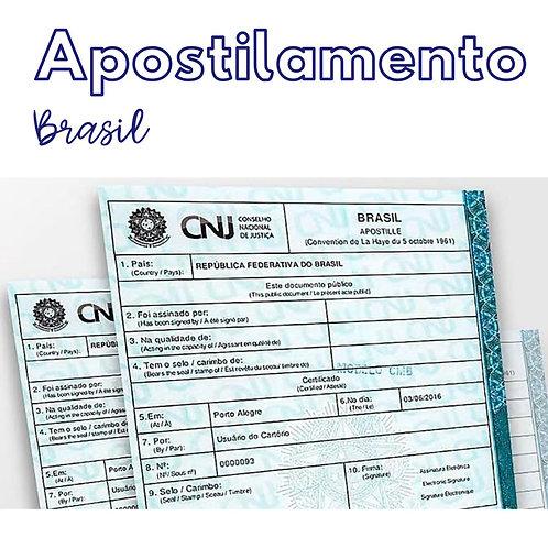 Apostilamento Brasil