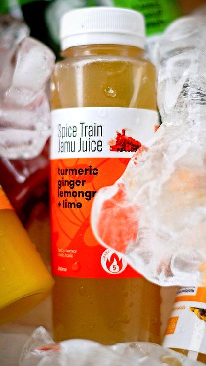 ZHINGER - ginger + turmeric + lemongrass + lime