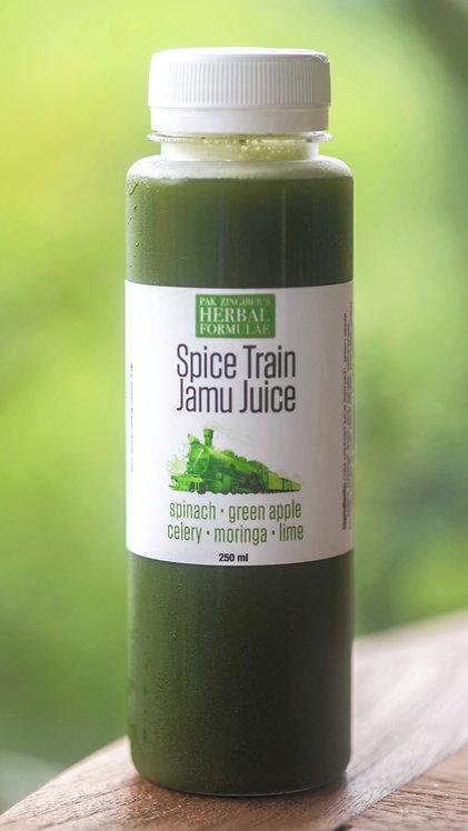 GREEN - spinach + green apple + celery + moringa + lime