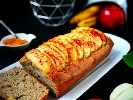 Appel bananen brood