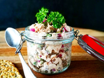 Tuna in a jar