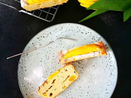 Mango ricotta cake