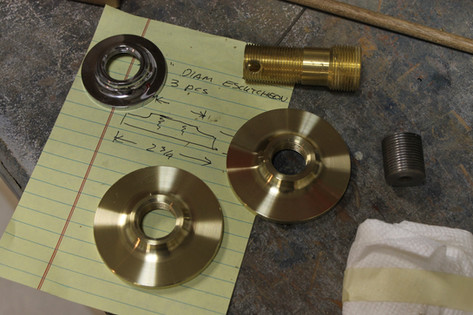 Brass Escutcheon
