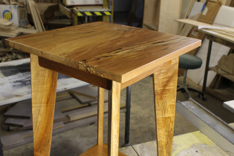 Small Red Maple Table