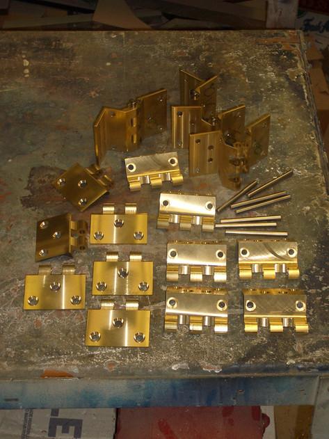 Custom Brass Hinges