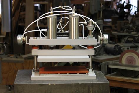 Custom Pneumatic Ravioli Press