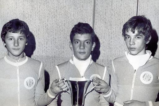 squadra agonistica maschile 1975