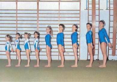 squadra agonistica femminile 1988