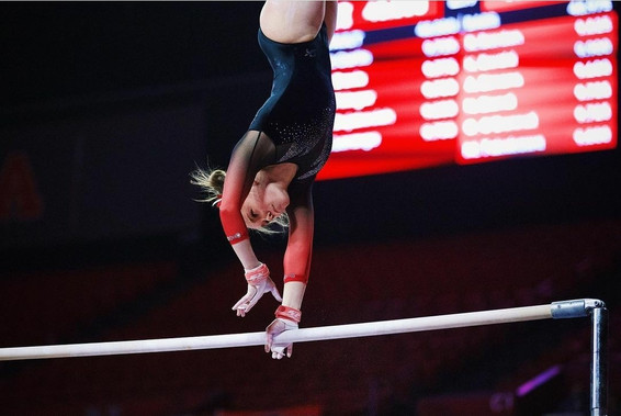 clara colombo - nebraska women's gymnastics team