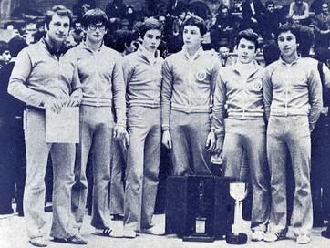 squadra aginistica maschile - gran premio federale dei giovani 1976