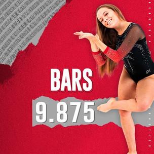 clara colombo - nebraska women's gymnastics team