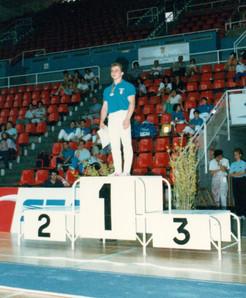 giuseppe scuteri - gymnasiadi 1988 barcellona