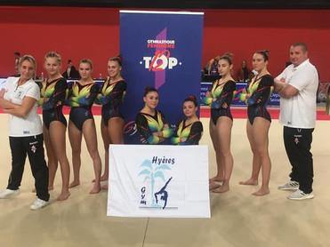 squadra hyeres gym - top 12 2020 rouen