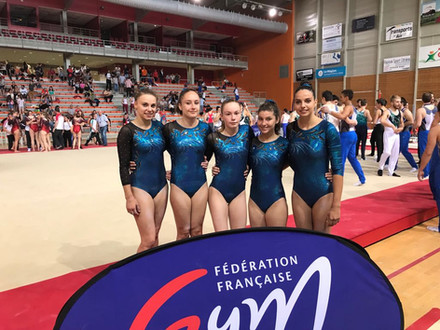 chiara vergani - championnat de france par equipes national 4