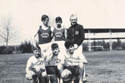squadra agonistica maschile 1960
