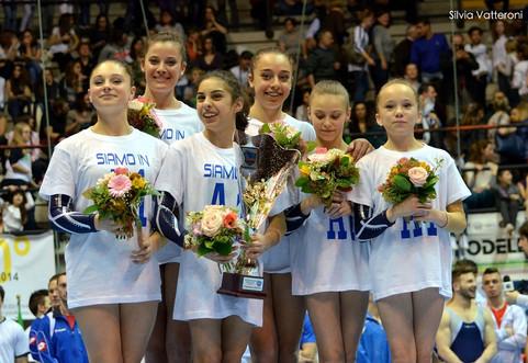 squadra femminile juventus nova melzo serie a2 2014 - desio