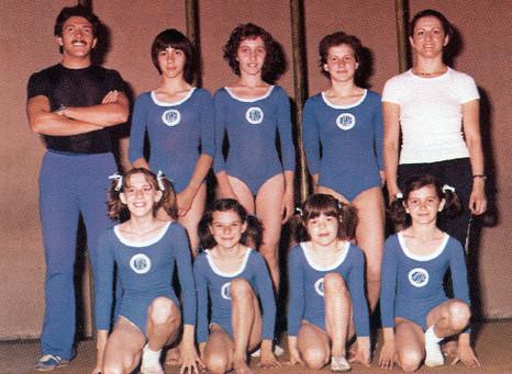 squadra agonistica femminile 1974