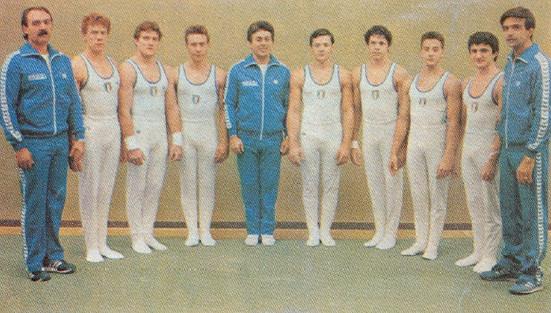 riccardo trapella - campionati del mondo 1985 montreal
