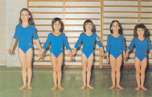 squadra preagonistica femminile 1987